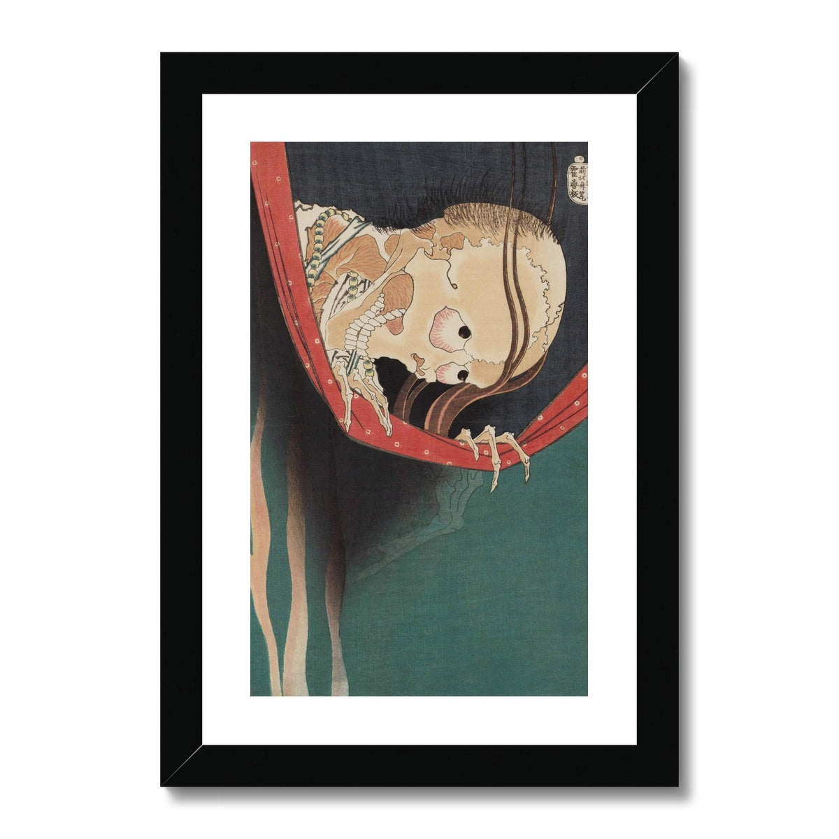 The Ghost of Kohada Koheiji (1831) - Framed & Mounted Print