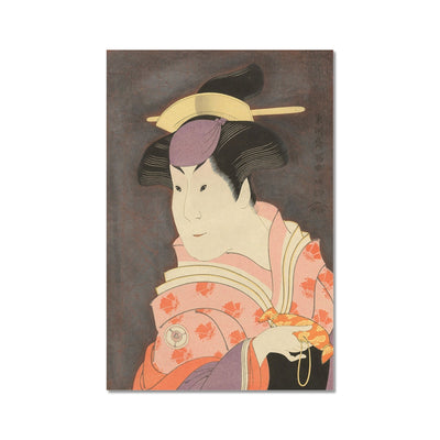 Iwai Hanshiro IV as the Wet Nurse Shigenoi (1794) - Fine Art Print