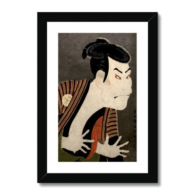 Ōtani Oniji III as Yakko Edobei (1794) - Framed & Mounted Print