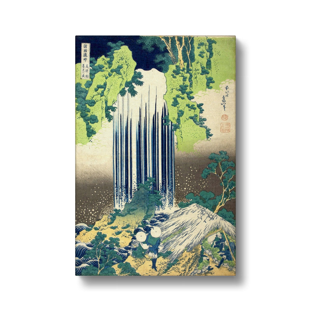 Yōrō Waterfall in Mino Province - Canvas
