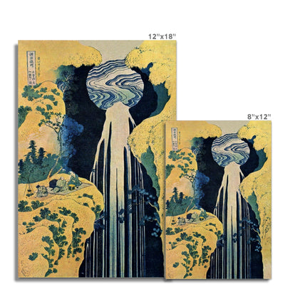 The Amida Falls in the Far Reaches of the Kisokaidō Road - Fine Art Print