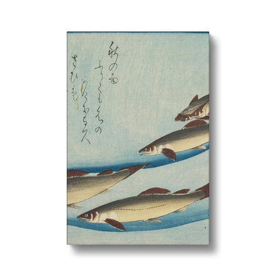 Trout (1832-33) - Canvas Black Frame
