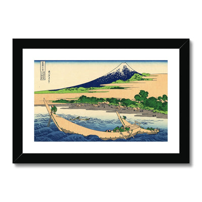 Shore Of Tago Bay, Ejiri At Tōkaidō - Framed & Mounted Print