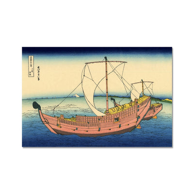 The Kazusa Province Sea Route - Fine Art Print