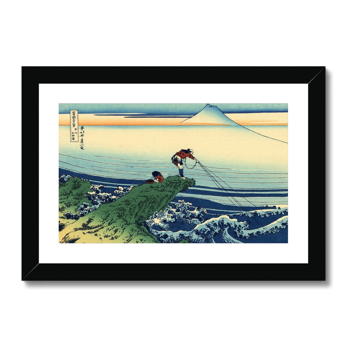 Kajikazawa In Kai Province - Framed & Mounted Print