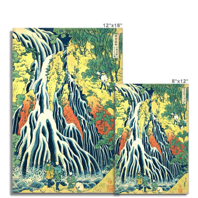 Kirifuri Waterfall at Kurokami Mountain in Shimotsuke - Fine Art Print