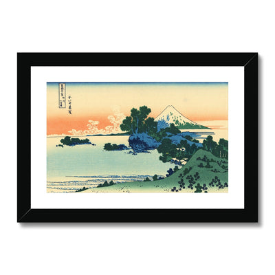 Shichiri Beach In Sagami Province - Framed & Mounted Print