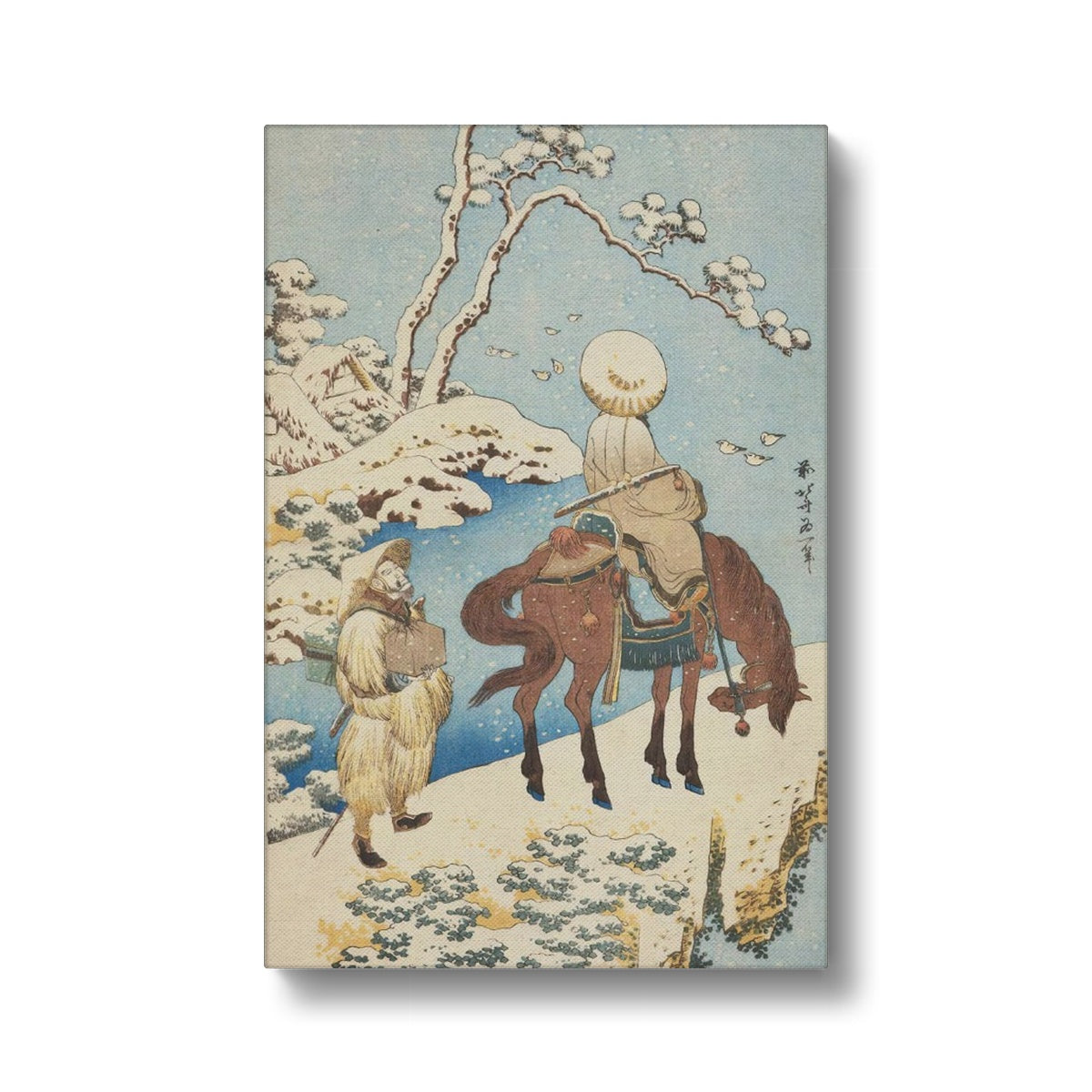 Traveler in Snow (1833) - Canvas