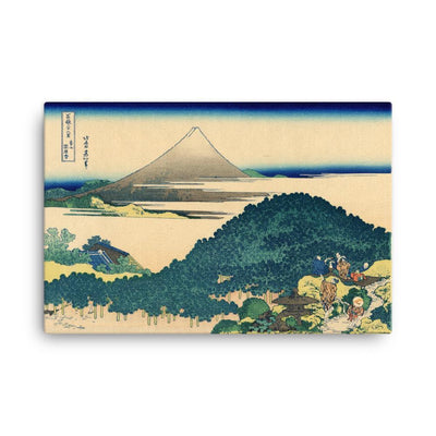 "Cushion Pine At Aoyama-Hokusai-Wall Art-24""x36""-Canvas-Rising Sun Prints"