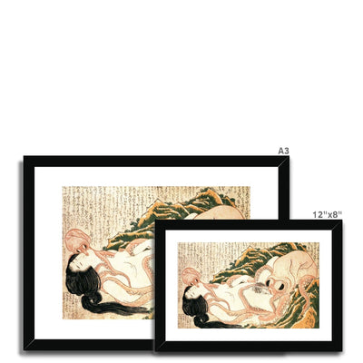 The Dream of the Fisherman's Wife (1814) - Framed & Mounted Print