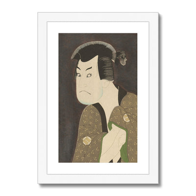 Sakata Hangorō III as the Villian Fujikawa Mizuemon (1794) - Framed & Mounted Print