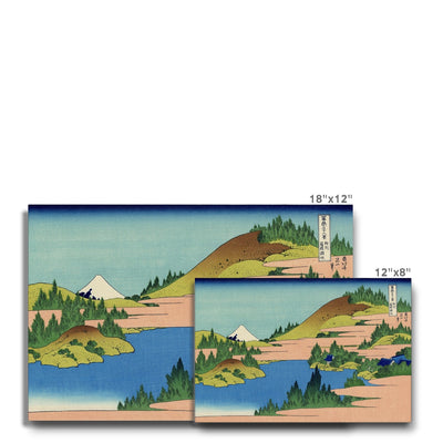 The Lake Of Hakone In Sagami Province - Canvas