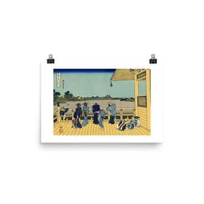 Sazai Hall - Temple Of Five Hundred Rakan-Hokusai-Wall Art-Rising Sun Prints