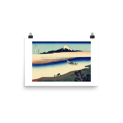 Tama River In Musashi Province-Hokusai-Wall Art-Rising Sun Prints