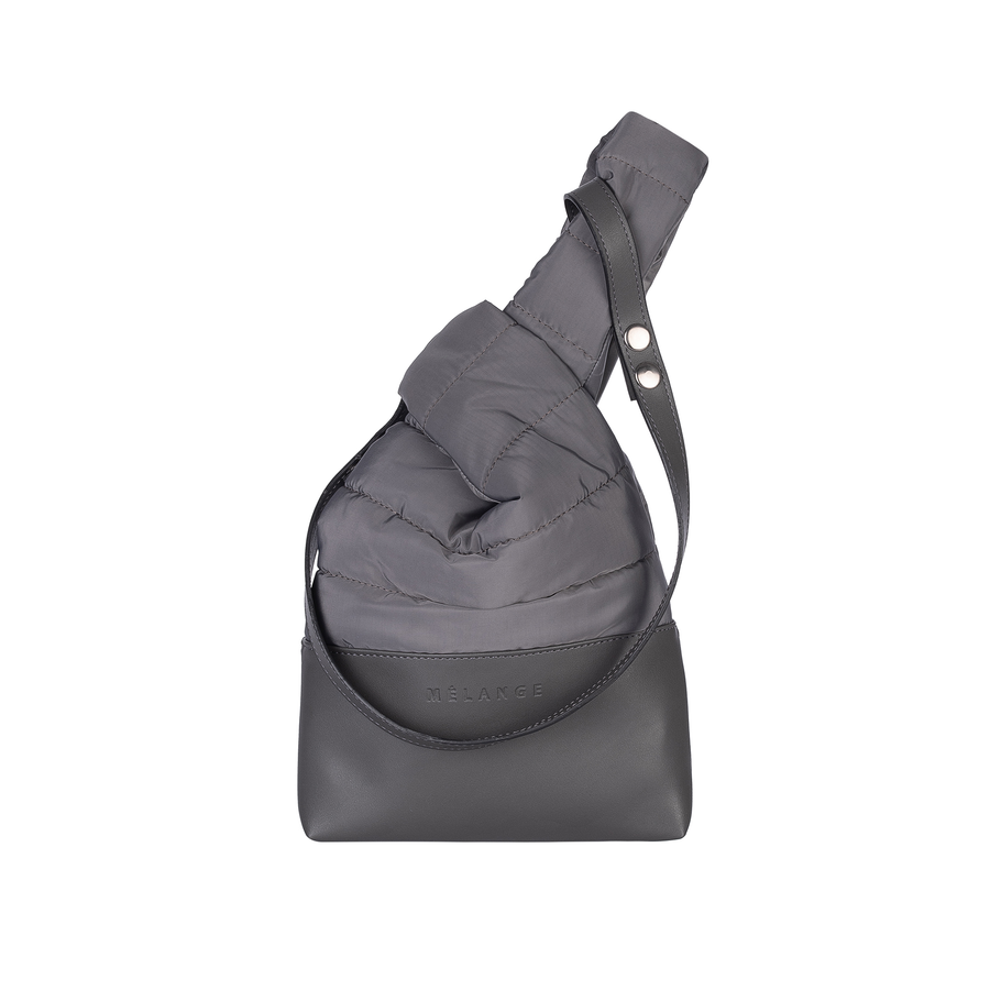 Puffer diForm Bag  Coral Grey