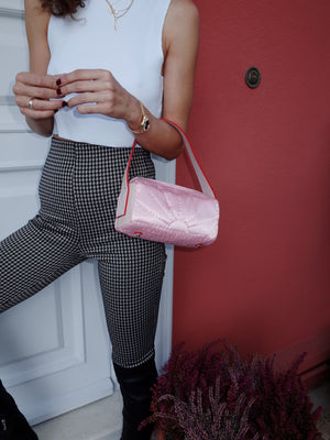 Mini Saddle Bag <br> Pink
