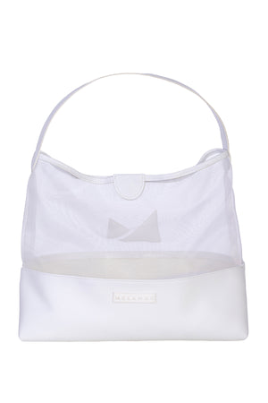 Dune Shoulder Bag <br> White
