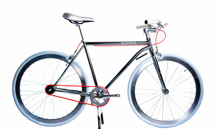 Regard Diamond Frame Bicycle V3 Silver