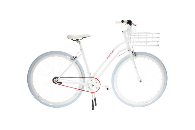 Real Step-Through With Basket Bicycle V3