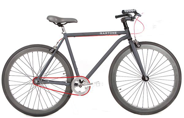 Greenwich Diamond Frame Bicycle V2