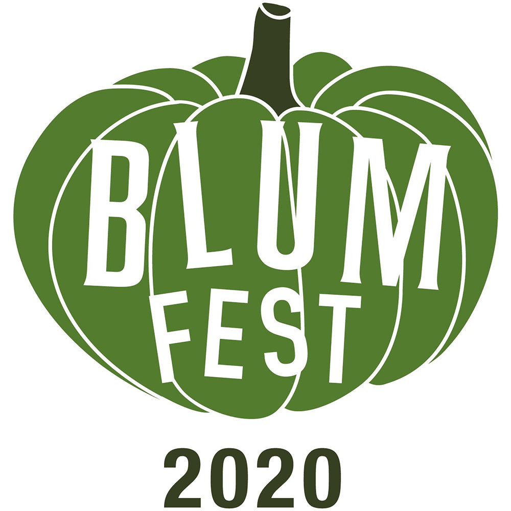 BlumFest 2020 Pumpkin logo Sticker