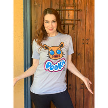 Pooka! Lives x Felicia Day Light Blue T-Shirt