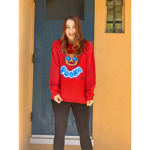 Pooka! Lives x Felicia Day Red Long Sleeve T-Shirt