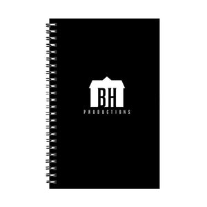 "Blumhouse ""BH"" Productions Logo Black Notebook"