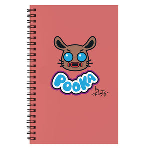 Pooka Lives! x Felicia Day Red Notebook