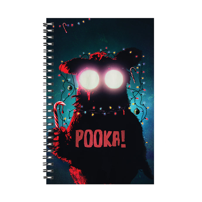 Pooka! Look at the Pretty Lights Notebook