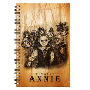Uncanny Annie Faces Notebook
