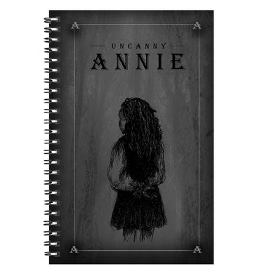 Uncanny Annie Notebook Black