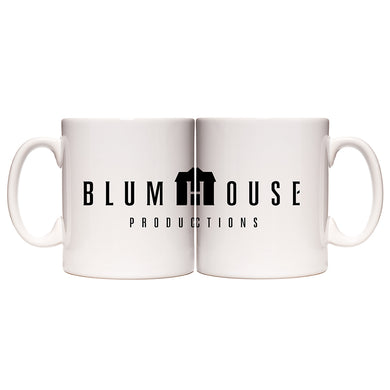 Blumhouse Productions Logo White Mug