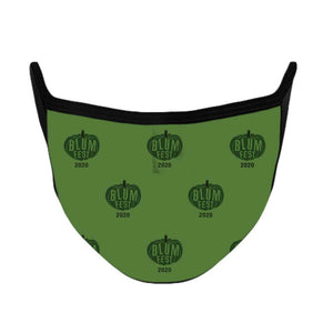 Blumfest 2020 Green Face Mask