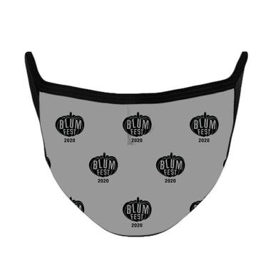 Blumfest 2020 Grey Face Mask