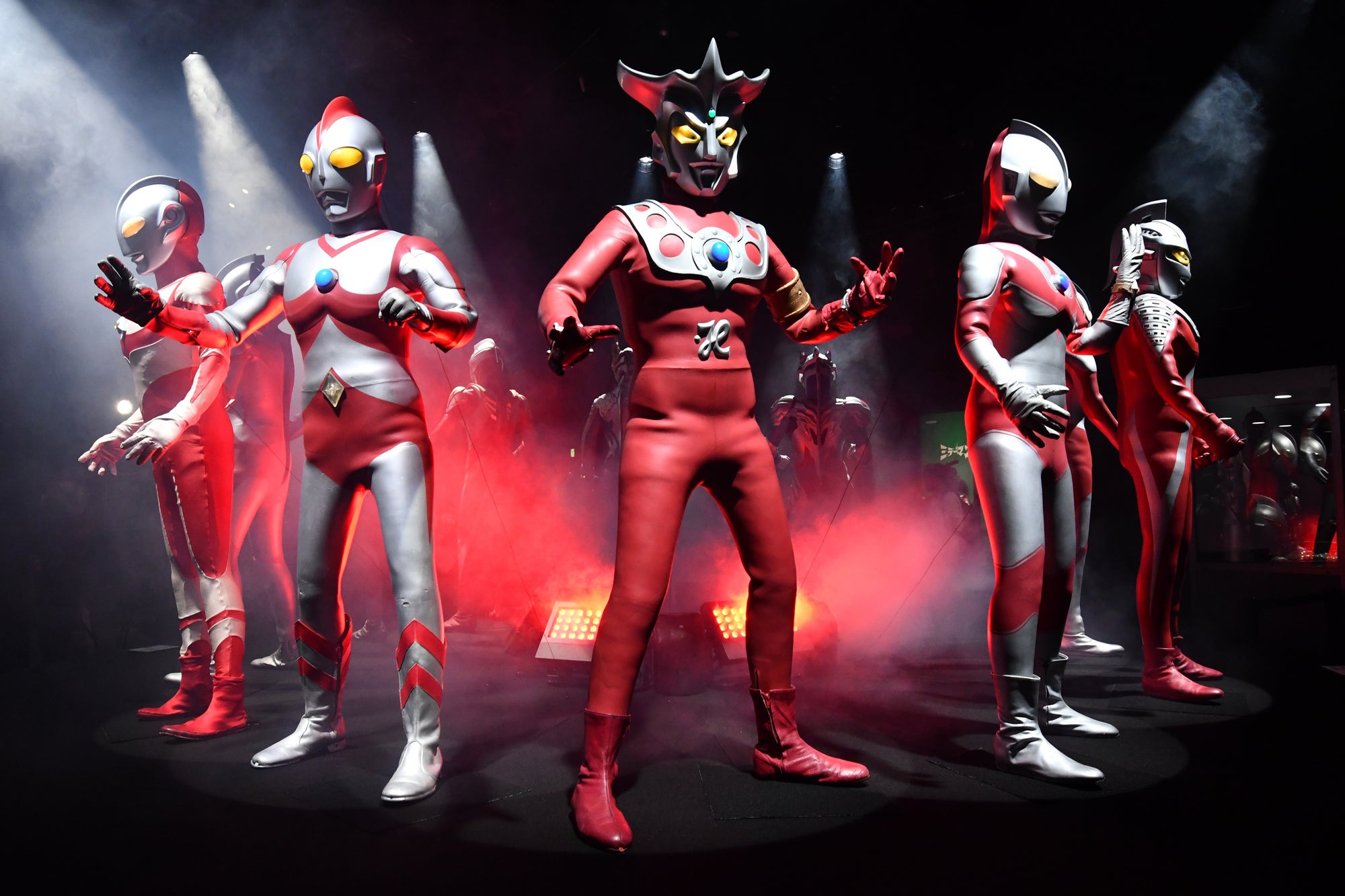 DNA of Tokusatsu Ultraman Genealogy Safely Lands at Tokyo Dome City