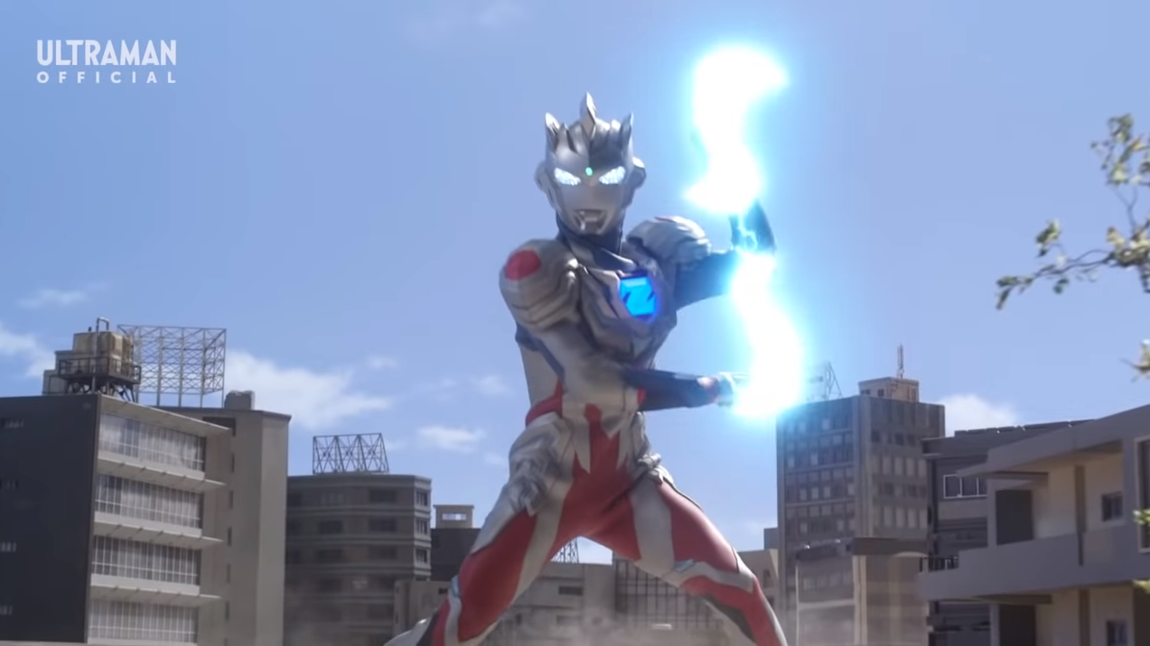 Ultraman Z Makes Stunning YouTube Premiere