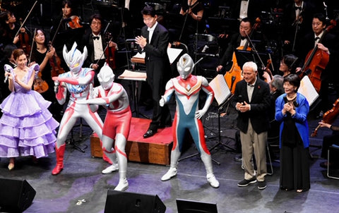 Ultraman Live Music Symphony evening show farewell ©Tsuburaya Productions