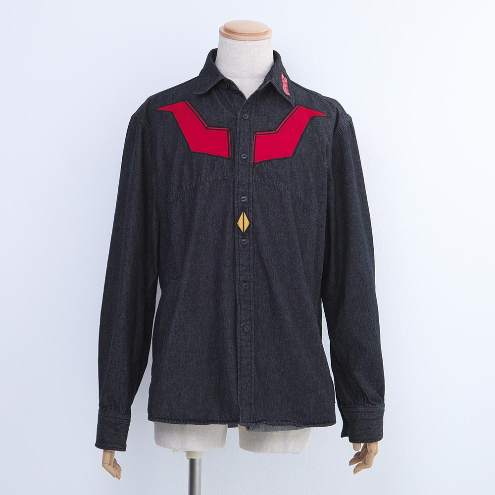 Mazinger Z Denim Shirt Size L
