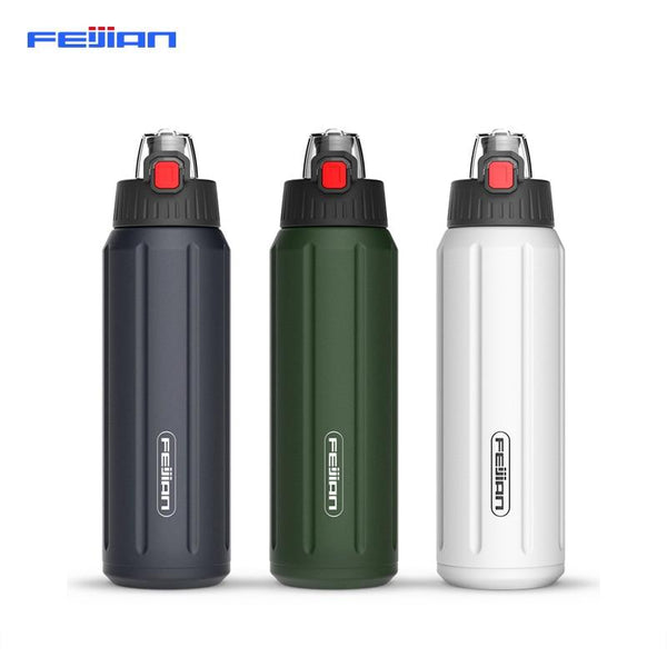 FEIJIAN Stainless Steel Rugged Water Bottle