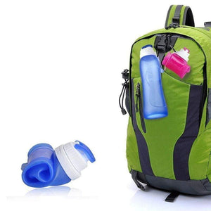 Foldable Silicone Water Bottle BPA Free Sport Outdoor Travel Running Hiking Creative Collapsible Drinking Bottle