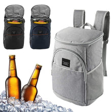 Load image into Gallery viewer, 18L Cooler thermal bag Picnic backpack insulated Knapsack