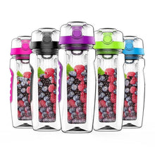 Load image into Gallery viewer, 32 oz (1L) Pop-top Infuser Tritan PBA-free Water Bottle
