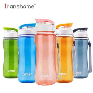 Transhome Healthy Water Bottle 560ml Simple Space  Drinkware  Sport Travel