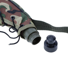 Load image into Gallery viewer, 750ml Wine Skin Bota Botha Bag Water Bottle Outdoor Camping Camouflage Canteen