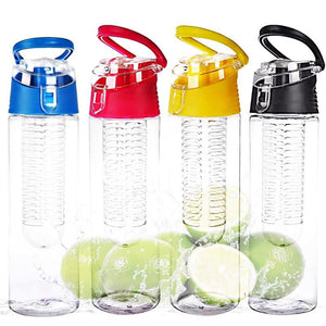 800ml Free Fruit Infuser Juice Shaker Sports Water Bottle