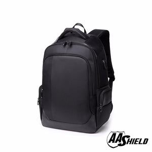 AA Shield - Bullet Proof School Bag  Backpack - BLACK - NIJ IIIA 3A Plate Panel Insert