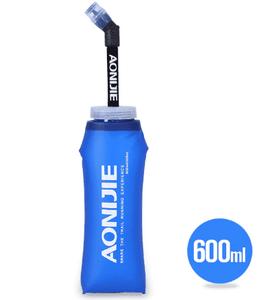 AONIJIE 12oz/350ml - 20oz/600ml TPU Outdoor Collapsible Sport Bottle Soft Flask