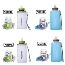 Load image into Gallery viewer, Naturehike Portable Silicone Folding Water Bag Sport Camping Outdoor Cup Drinkware With Straw Kettle Travel Bottles