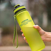 Load image into Gallery viewer, UZSPACE Water Bottle 22oz/650ml 34oz/1L Capacity PBA-Free Plastic